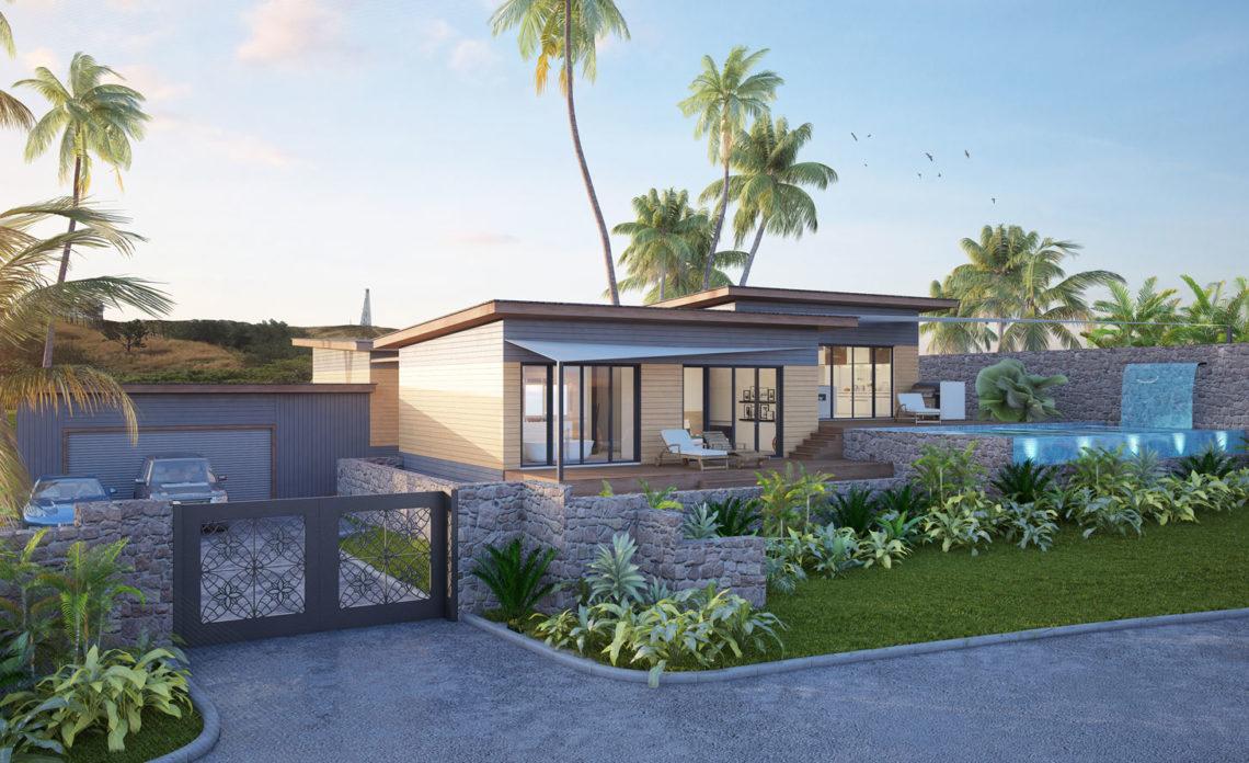 A Model Home Design – Natadola Beach Land Estates